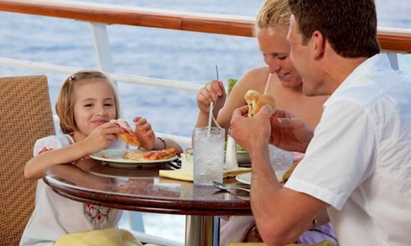 Family Dining Onboard Carnival Cruises