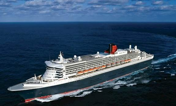 Cunard Cruises Ship