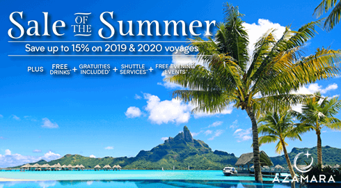 Azamara Cruises 2019 / 2020 | Cruise Holiday Deals