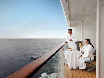 Couple onboard Celebrity Cruise Ship