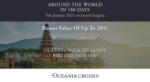 Oceania Cruises 2019 / 2020 | Worldwide Cruise Deals