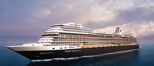 Artist's impression of the Nieuw Statendam