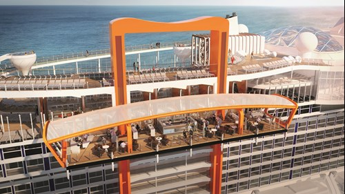 Magic Carpet on board the Celebrity EDGE
